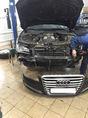 Audi A8 2010 год, установили светодиодные фары
