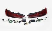 Audi A3 8V задние LED фонари вид рестайлинга
