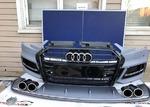 Audi A3 обвес S3 передний бампер + диффузор 16+