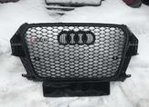 Audi Q3 решетка радиатора RSQ3 черная