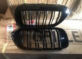 Bmw G30 решетка радиатора ( ноздри раздвоенные, черные)