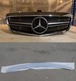 Mercedes E W212  2009-2013 спойлер+решетка радиатора