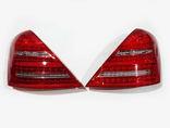 Mercedes W221 задниефонари рестайлинг (возможна установка на дорест)