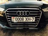 Установка решетки Audi A6 C7 chrome line