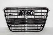 Решетка радиатора Audi A8 W12 D4 2010-2014